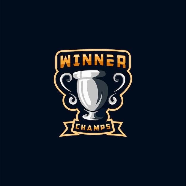 Projektowanie logo esportu trophy