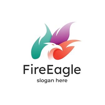 Projektowanie logo fire eagle
