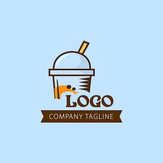 Projektowanie logo firmy sok owocowy