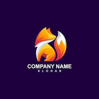 Projektowanie logo fox