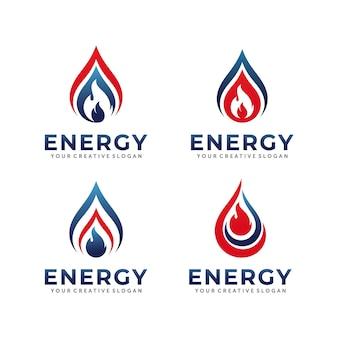 Projektowanie logo gazu i ropy