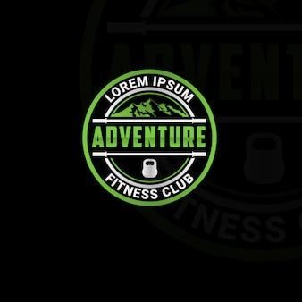 Projektowanie logo klubu fitness na świeżym powietrzu