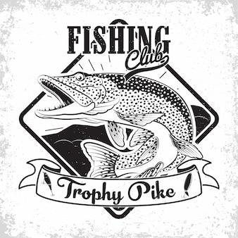 Projektowanie logo klubu wędkarskiego