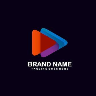 Projektowanie logo kolorowe ikony gry