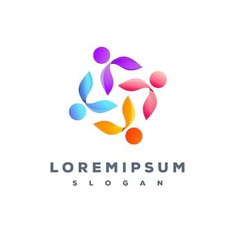 Projektowanie logo kolorowe zespołu