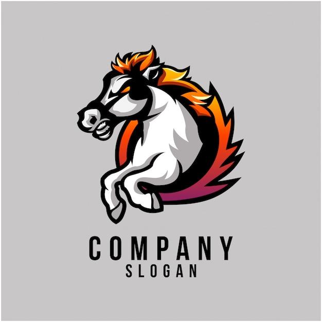 Projektowanie logo konia