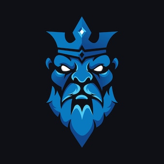 Projektowanie logo króla
