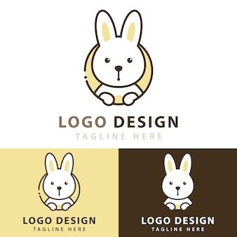 Projektowanie logo królika