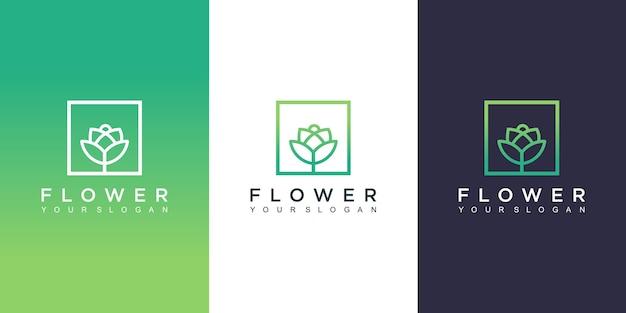 Projektowanie logo kwiat