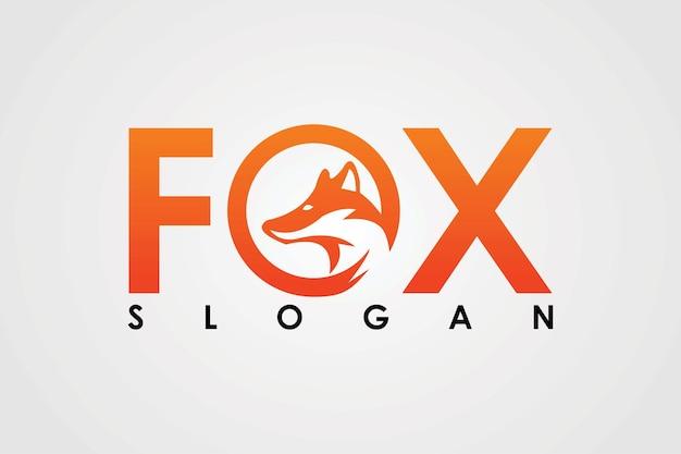Projektowanie logo lisa ognistego