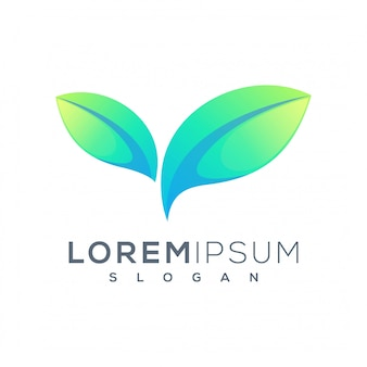 Projektowanie logo liści