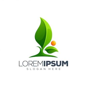 Projektowanie logo liścia
