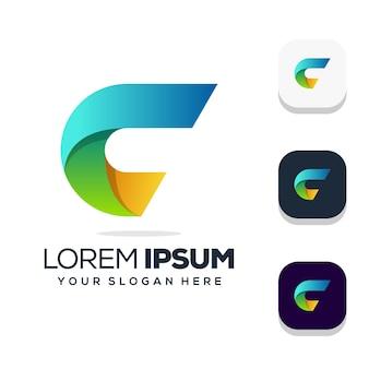 Projektowanie logo litera c