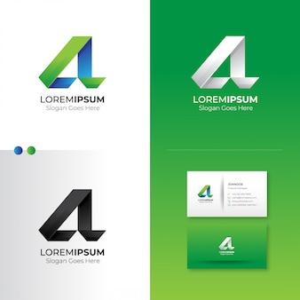 Projektowanie logo litery a.