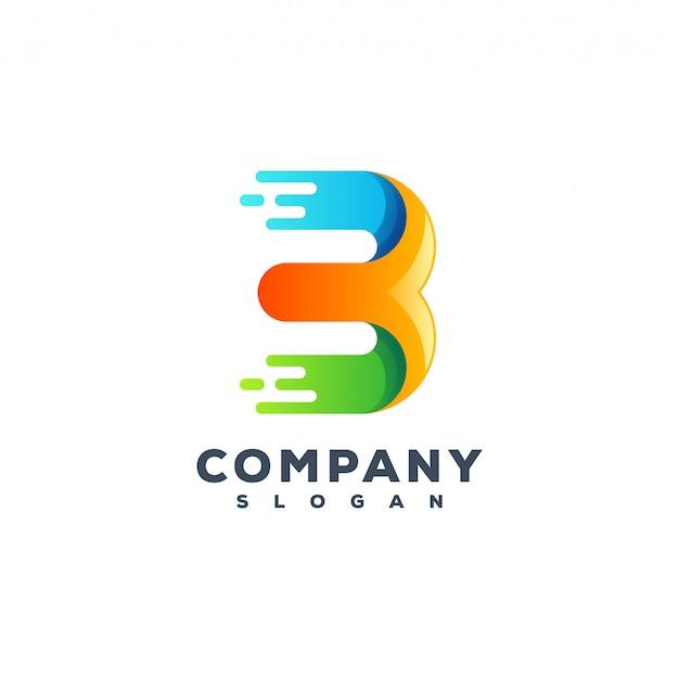 Projektowanie logo litery b