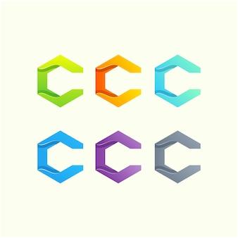 Projektowanie logo litery c