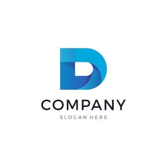 Projektowanie logo litery d.