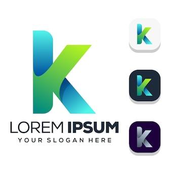 Projektowanie logo litery k