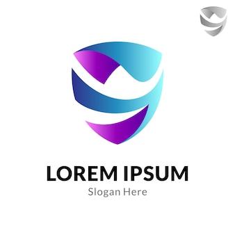 Projektowanie logo litery s.