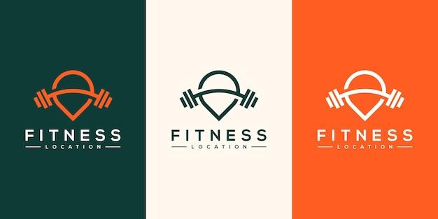 Projektowanie logo lokalizacji fitness