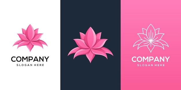 Projektowanie logo lotus