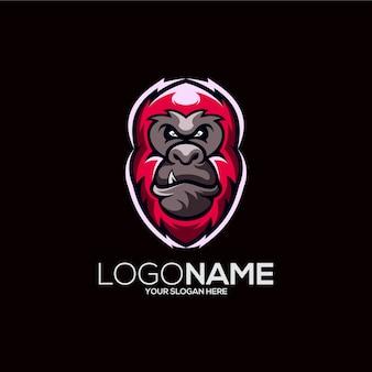 Projektowanie logo małpy