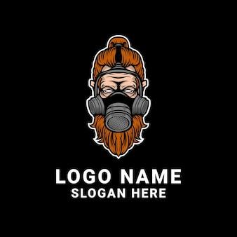 Projektowanie logo maski przeciwgazowej