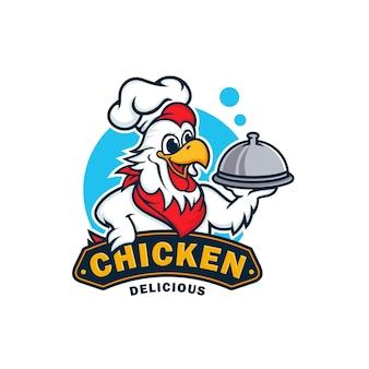 Projektowanie logo maskotka kurczaka