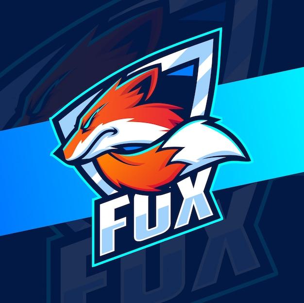 Projektowanie logo maskotka lis
