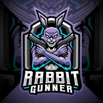 Projektowanie logo maskotki e-sportowej królika