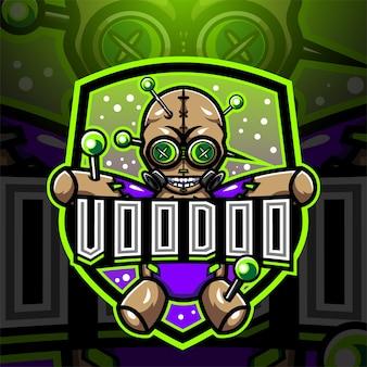 Projektowanie logo maskotki e-sportowej voodoo