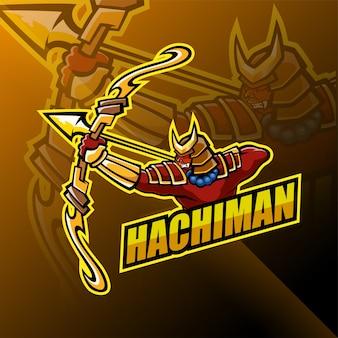 Projektowanie logo maskotki hachiman