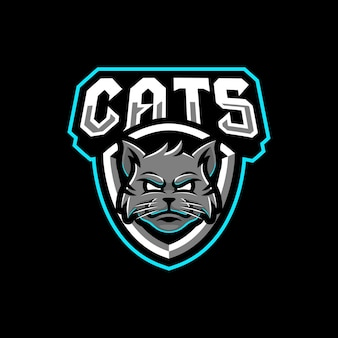 Projektowanie logo maskotki koty