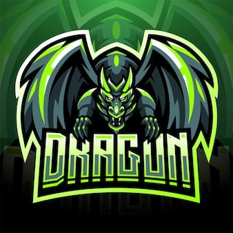 Projektowanie logo maskotki króla smoków