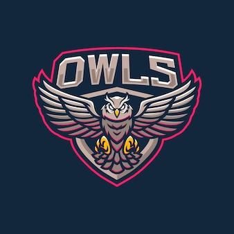 Projektowanie logo maskotki sowy