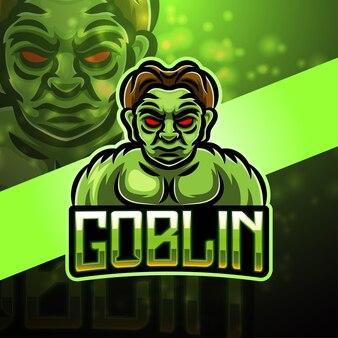 Projektowanie logo maskotki sportowej goblinów
