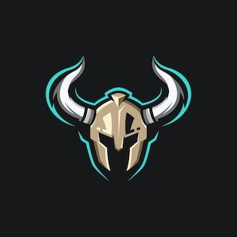 Projektowanie logo maskotki wojownika