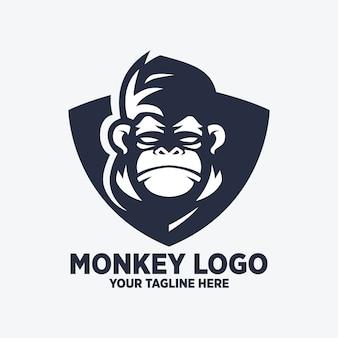 Projektowanie logo monkey shield