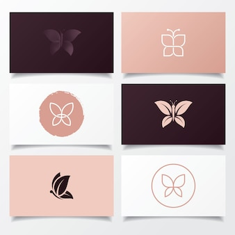 Projektowanie logo motyla