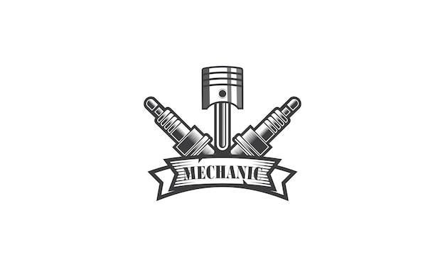 Projektowanie logo naprawy mechaniki usług