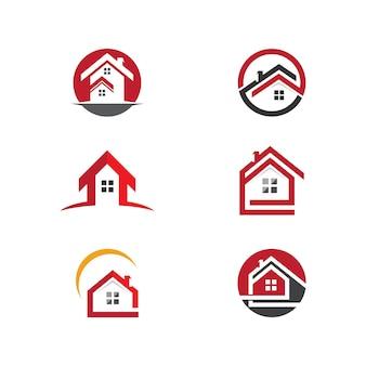 Projektowanie logo nieruchomości, nieruchomości i budownictwa