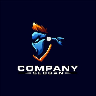 Projektowanie logo ninja