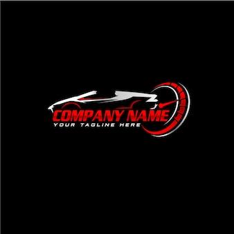 Projektowanie logo nowoczesnej firmy motoryzacyjnej
