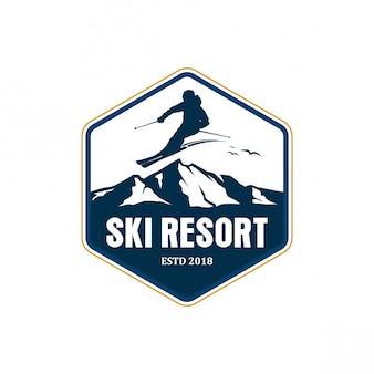 Projektowanie logo ośrodka narciarskiego