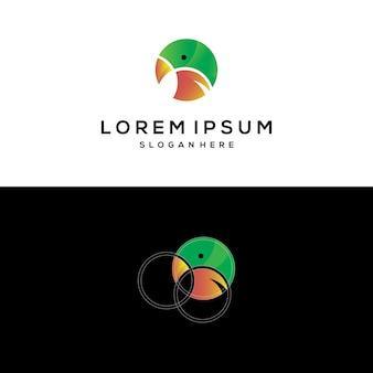 Projektowanie logo papugi