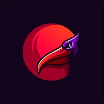 Projektowanie logo pelikana