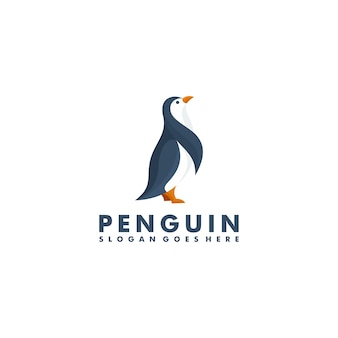 Projektowanie logo pingwina