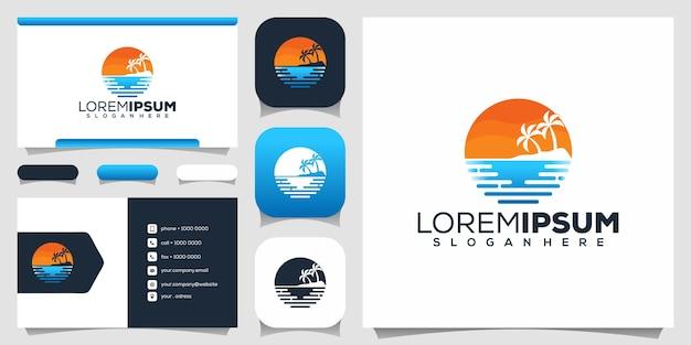Projektowanie logo plaży