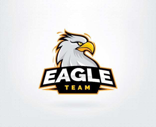 Projektowanie logo postaci maskotka orzeł