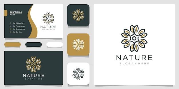 Projektowanie logo przyrody i wizytówki